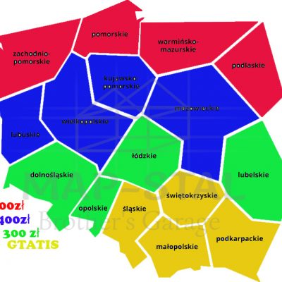 Mapa cen transportu