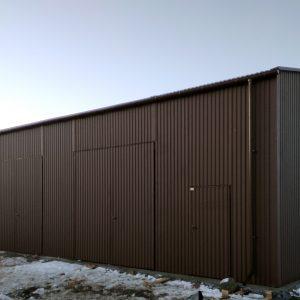Garaż blaszak 12×8