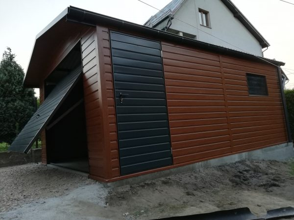 Garaż 4×6 + wypust