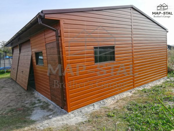 Garaż 9×6 + wypust