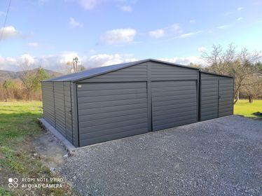 Garaż 6×5,8 + 3×5,8